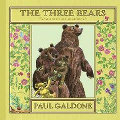 The Three Bears #WhatYourKindergartnerNeedsToKnow #Literature