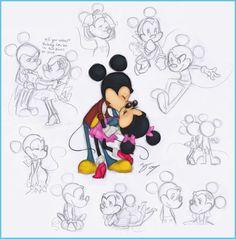 ♡♡♡ • L'♡mour éternelle de 2 personnages qui seront connus jusqu'à la nuit des temps⭐⭐⭐ • ♡♡♡ ~ MickeY et MiññiE MOUSSE ~ [❤_Disney_❤]