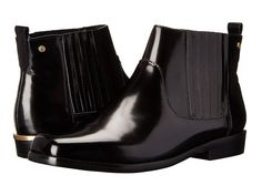Bass Billie Women's Boots Black Royal Box Leather : 8.5 M (B)