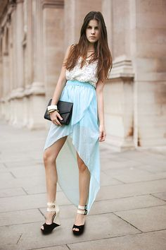 ROMANTICISM WITH MINT AND LACE (by M. K.) http://lookbook.nu/look/3360935-ROMANTICISM-WITH-MINT-AND-LACE