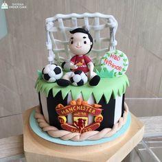 Football Cake Manchester United Cake