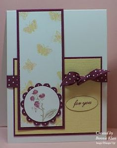 Bookmark card from Stamping with Klass