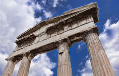 The Gate of Athena Archegetis by Stavros Marmaras on Urban Photography, Athens, Gate, Greece, Tower, Architecture, Street, Greece Country, Arquitetura