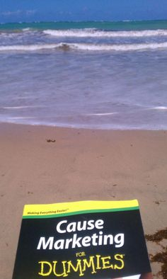 Cause Marketing for Dummies finally reaches the beaches of Puerto Rico. Wish I was with it. :)