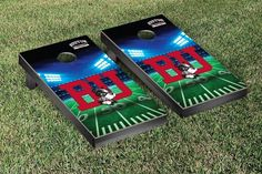 Cornhole Game Set - Boston BU Terriers Stadium Version - 32982