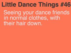 its so weird... Little Dance Things probably the weirdest thing eeevvveeerrr!!!