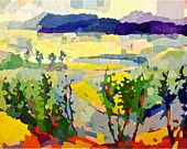 """Over the Cowpasture River Valley, Bath County, Virginia, 16 x 20 """" , limited edition giclee print"""