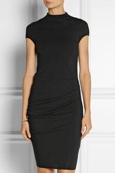 Helmut Lang|Nova stretch-jersey mini dress|NET-A-PORTER.COM