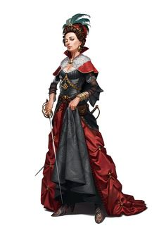 Princess Eutropia - Taldor Human Aristocrat Swashbuckler - War for the Crown - Pathfinder PFRPG DND D&D 3.5 5th ed d20 fantasy