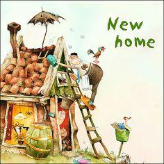 New home By Marius van Dokkum