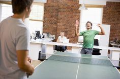 5 reasons why your office needs a ping pong table
