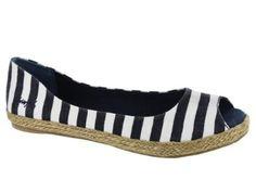 Blowfish Women's Sandbox Shoes Navy/White