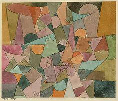Intitulado  Paul Klee (alemán (nacido en Suiza), Münchenbuchsee 1879-1940 Muralto-Locarno)  Fecha: 1914 Medio: Acuarela y tinta sobre papel Dimensiones: H. 4-1/4, 5-1/8 pulgadas W. (10,8 x 13 cm.) Clasificación: Dibujos Línea de crédito: La Colección Berggruen Klee, 1984