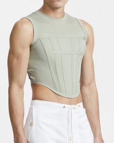 Only Fashion, Look Fashion, Mens Fashion, Fashion Outfits, Tank Top Outfits, Cool Outfits, Mode Man, Queer Fashion, Facon