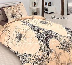 Paris romantic bedlinen, 100% cotton