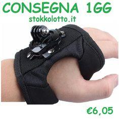Guanto 360 bracciale polsiera Https://stokkolotto.ecwid.com supporto attacco mano braccio per gopro hero sjcam xiaomi yi qumox nilox sj4000 - Wimius 4K - Floureon Y8-P - TecTecTec XPRO3 - lightdow ld4000 #Guanto360 #bracciale #polsiera #supportogopro #att