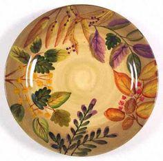 Certified International Tuscany Salad Dessert Plate Grapes By Pamela ...