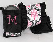 Ruffle Camera Strap Cover Set-  -