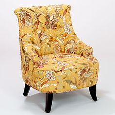 Amber Blossom Erin Chair at Cost Plus World Market