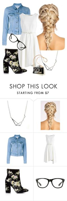 """""""Wedding hair, Don't bare"""" by horrorhowell ❤ liked on Polyvore featuring Acne Studios, Chicwish and Miss Selfridge"""