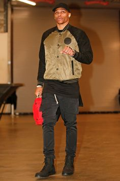 f1704752 82 Flavors of Russell Westbrook - Every outfit the Oklahoma City Thunder  star wore in 2017