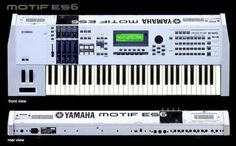 Yamaha Motif ES6.  My 2009 album 'Indubitably...' was written largely using one of these.