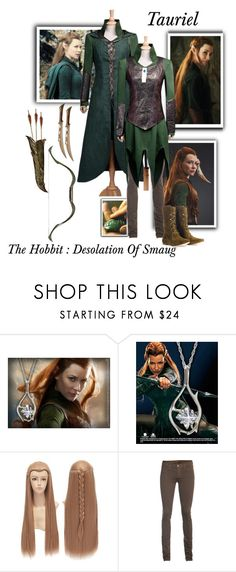 """""""Tauriel - The Hobbit : The Desolation of Smaug"""" by gone-girl ❤ liked on Polyvore featuring Murphy, J Brand, belle by Sigerson Morrison, TheHobbit, tauriel and DesolationOfSmaug"""