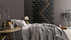 Piękna sypialnia w kolorach ziemi - FaFa LoVes.