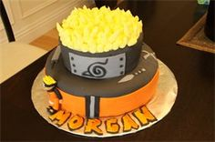 naruto cake - i'd even be happy with just the top layer