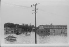 Topeka, July 13, 1951, has been called by some Black Friday. It was on this day that one of the most costly floods in Kansas' history swept down the Kansas River valley into the Missouri River basin.