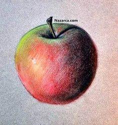 Meyveler Nasil çizilir Videolu Ders Kolay Resim çizimi Pinterest