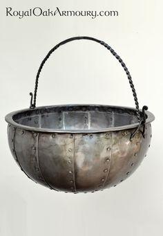 HandMade Oseberg Cauldron Replica by RoyalOakArmoury on Etsy, $370.00