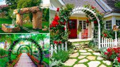 23+idées+sublimes+d'arches+pour+décorer+son+jardin