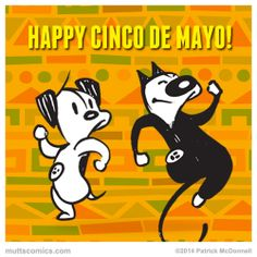 #CincoDeMayo #muttscomics #mutts #happy