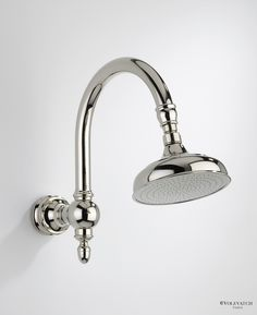 volevatch bistrot shower head on swan neck shower arm