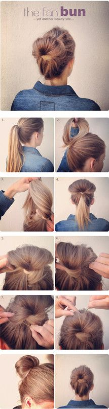 The Fan Bun.