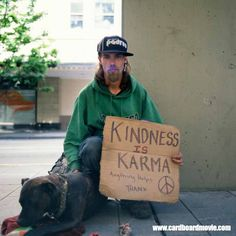 Cardboard, the Story Behind the Signs. Panhandlers in Seattle ...