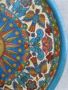 "Купить Тарелка декоративная ""Луна"" - луна, Тарелка декоративная, тарелка сувенирная, тарелка на стену"