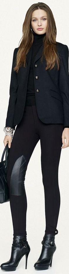 Boss Lady via @estathiris. #RalphLauren #suits
