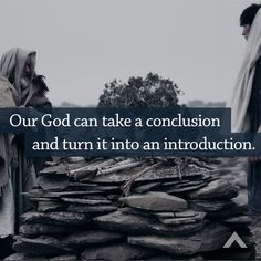 Our God can take a conclusion and turn it into an introduction.  www.elevationchurch.orgGlamfoxx.com Fashion Must Haves