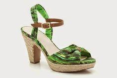 LADIES SHOES Olina Katelina Green Floral Womens Casual Sandals were £44.99 NOW £19.99 at Clarks #GRATfashion   #GRATshoes   #flashbargain   #flashbargains