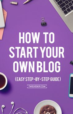 How To Start A Blog - Here is a step-by-step guide to building your own blog. In this post, you will learn how to create a blog with WordPress, links to WordPress tutorials for beginners, tips on marketing your blog + making money blogging. Click the PIN to learn how! #blog #blogging #startablog