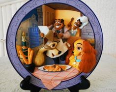 SALE NOW 79.99 Disney Cinderella 3D Plate We by colleensdollcorner