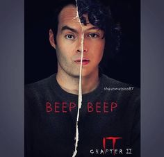 Anyone else can't wait to see Bill Hader's portrayal of adult Richie Tozier? Finn Wolfhard was awesome. Pic by me, if you repost, please… It Movie Cast, 2 Movie, Series Movies, It Cast, Scary Movies, Good Movies, Horror Movies, Movies Showing, Movies And Tv Shows