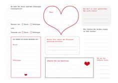 Hochzeitsgästebuch - DIY Gästebuch Hochzeit mit 3 PDF Vorlagen - ein Designerstück von OOH-HAPPY-DAY bei DaWanda