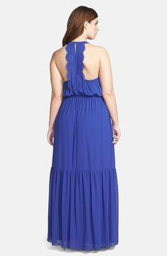 Jessica Simpson Blouson Maxi Dress (Plus Size)   Nordstrom