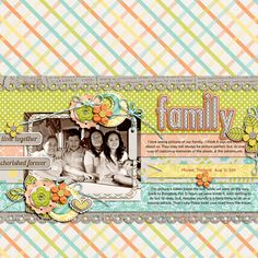 The Ones We Cherish kit/bundle by Jady Day Studio  Under The Big Top Template pack by Little Green Frog Designs;