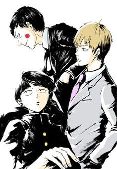 Mob Psycho 100 | Kageyama Shigeo | Reigen Arataka | Ekubo/Dimple