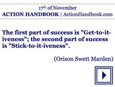 Act!  ACTION HANDBOOK [Lifetime Version]  For your every day of any year!  #ebook #quoteoftheday #mondaymotivation