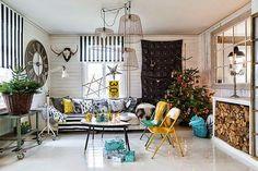Una Navidad cargada de color en esta casa